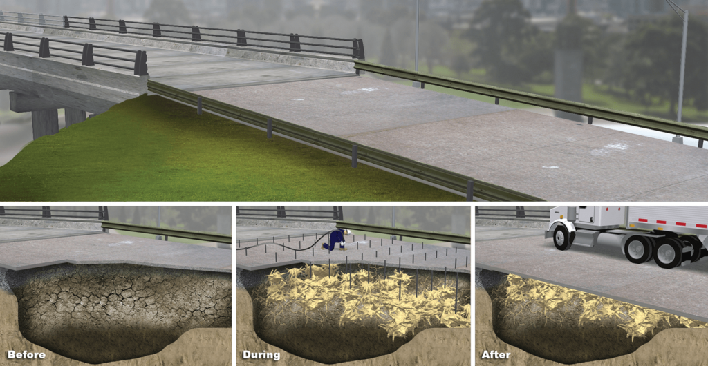 Stabilize Soil Bridge Approach